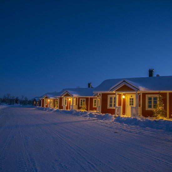 Aurora Mountian Lodge. Photo: Michael Törnkvist