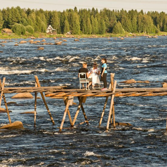 Dinner on the River, Kukkolaforsen