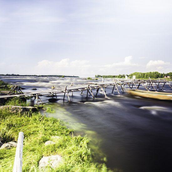 Kukkolaforsen. Photo: Linnéa Isaksson